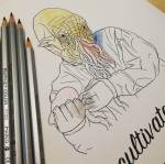 doctor who colouring ood example